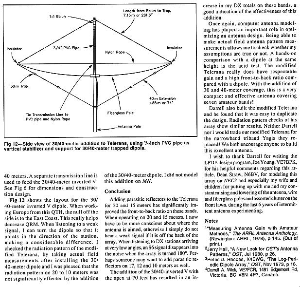 VE7CA -> Antennas -> LPDA-Telerana Article